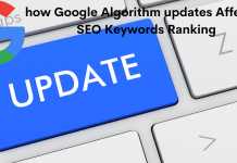 how Google Algorithm updates Affected SEO Keywords Ranking